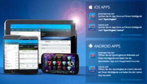 Auch die mobile Nutzung der Wettwelt gelingt mühelos: Android- und iOS-Nutzer profitieren von einer eigenen Sportingbet App