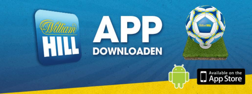 Sowohl iOS- als auch Android-Nutzer profitieren von der William Hill App