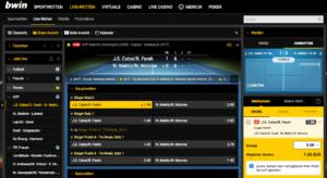 Die Live-Wetten-Arena überzeugt vollends: Viele Events, Live-Streaming und eine professionelle Optik vermitteln Spiel- und Wettspaß
