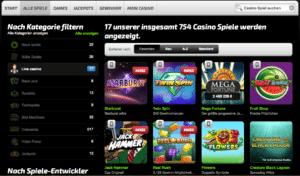Längst stehen nicht nur Sportwetten im Vordergrund, sondern auch funkelnde Casino-Abenteuer